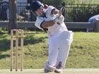Darren Koch, Met Easts. Cricket, Met Easts vs Wests at Harristown Park .