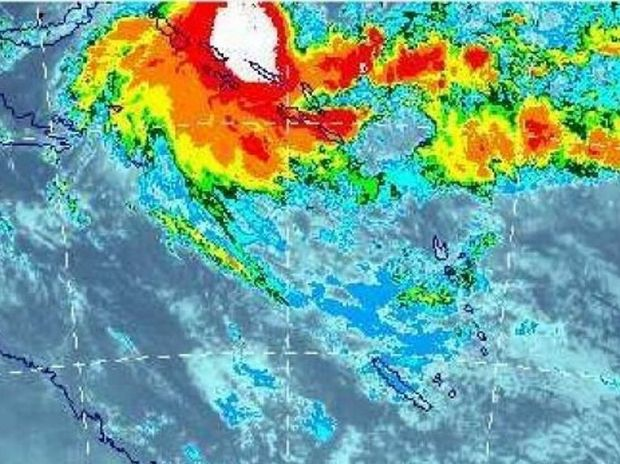 WARNING: Cyclone Stan has a high risk of development over the Gulf of Carpentaria on thursday December 24. Photo: BoM