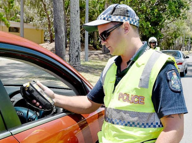 Senior Constable Matt Loudon and Fraser Coast Police will be enforcing safe practises on the roads this Christmas. Expect to be tested for speeding, drinking and drug taking.