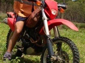 Motorcycle stolen from Scottville address