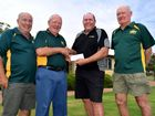 Men's Shed receive gift from Roma Golf Club