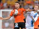Brisbane Roar attacker Brandon Borrello has strongly denied he is considering his future elsewhere, despite only starting in one A-League game this month.