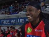 CRICKET sensation Chris Gayle has blasted his critics in a parting shot to Australia on Instagram.