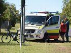 HIT AND RUN: Car knocks man off push bike