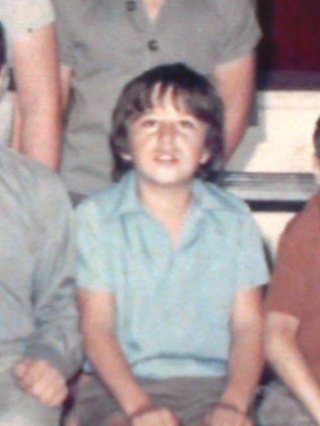 Gordon Myers as a young boy.