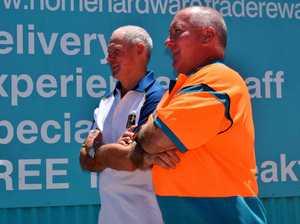Tony Lambert supporting the Men of League