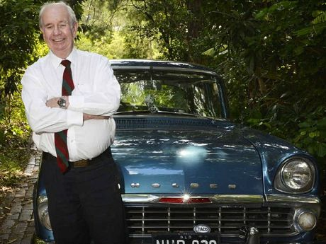 RELIABLE: John Budden has driven the same EK Holden to work for 47 years.