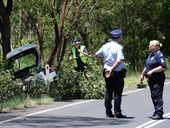 A QUIET stretch of road between Gatton and Esk was the scene of another road tragedy yesterday.
