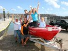 BOB Spees will now be able to enjoy the school holidays without worrying about safety on the Whisper Bay boat ramp.
