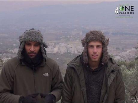 Prominent British Muslim activist Tauqir 'Tox' Sharif and former Toowoomba resident Oliver Bridgeman visit Latakia.