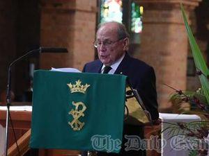 Spiro Notaras funeral Eulogies