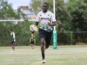 RUGBY league isn't big in Sudan. But that is all set to change if new Ipswich Jets recruit Chol Chol gets his way.