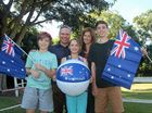 A RECORD 40 people will officially become Aussies at the Ballina Shire Australia Day ceremony to be held at Lennox Head next Tuesday.