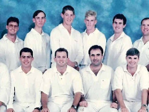 REMEMBERING: The first and only premiership team for Brothers from the 1995/96 season.