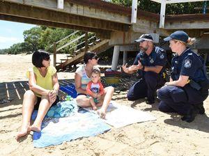 Avoiding theft at the beach