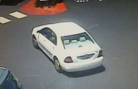 This vehicle was seen in the area.