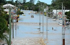 RECORD FLOODS: In 2013 North Bundaberg was ravaged by the highest floodwaters since records began in 1870.