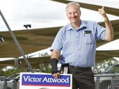 WHEN Victor Attwood first stood for Ipswich City Council at the turn of the millennium even his supporters didn't think he had a chance.