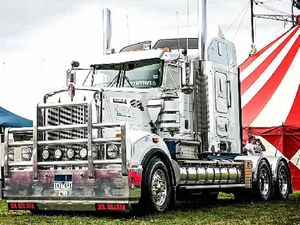 SHINY RIG: One of the exhibits from last year's Heywood Truck show.