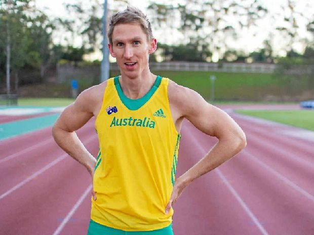 HOPEFUL: Eungella's Craig Burns is determined to run a time which will qualify him for the Rio Olympics before June. If he runs the time, the outbreak of Zika virus in Brazil won't stop him from competing.