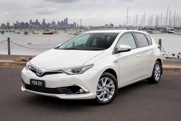 ALTERNATIVE COROLLA: AUSTRALIA'S best-selling car will embrace hybrid technology from the middle of 2016.