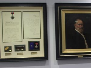 Mackay's founder's personal items on display at council