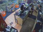 WATCH: Teen attendant terrified in video store robbery