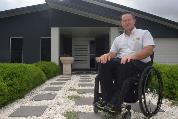 FAST WHEELS: Dalby man Rodney Dahlheimer will soon be leaving the country for his long awaited stem cell treatment in Panama.