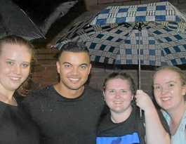 Dedicated fans hunt down Guy Sebastian