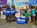 POLITICIANS, educators and students have slammed the Federal Government over its proposal to privatise the TAFE sector.