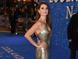 Penelope Cruz couldn't stop laughing on set