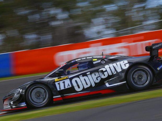 Matt Campbell breaks a GT practice record at Mt Panorama, Bathurst.