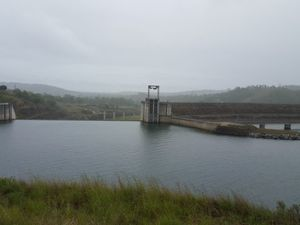 Awoonga Dam is at 97 per cent capacity. Source: Chris Arnold