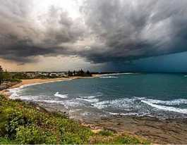 Coast gears up for a week without sun