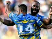 Parramatta left a huge Eden Park crowd shattered after upsetting hot favourites the New Zealand Warriors 22-4 in the final of the lucrative Auckland Nines.