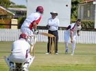 HAT-tricks are rare in Condamine Cup cricket in Warwick but it is even rarer to take wickets with the second, third and fourth balls of the innings.
