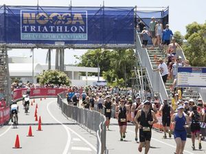 On top of the world - the Noosa Triathlon Multi Sport Festival.
