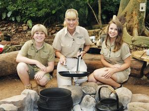 Irwins come to the rescue on I'm A Celebrity
