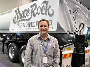 EXHIBITOR DEBUT: Bruce Rock Engineering's Damion Verhoogt will bring a range of trailers to Melbourne's International Truck, Trailer and Equipment Show in May.