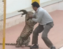 VIDEO: Leopard attacks man in Indian school