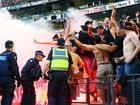 Western Sydney Wanderers chief executive John Tsatsimas has blasted the club's supporters.