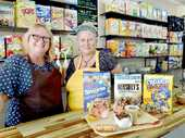 TOURISTS to the Bay can now cure their holiday blues with a bowl of cereal from home in Queensland's first cereal bar.