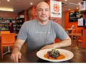 THE Paleo Cafe franchise has won a prestigious international award and Mackay cafe owner Michael Harris thinks it's thanks to a move towards healthy living.