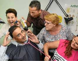 Doctor prepares to lose his hair for Leukaemia Foundation