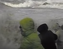 VIDEO: Rogue wave washes away French couple