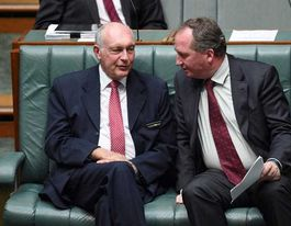 Late night talks over Coalition Agreement: Joyce