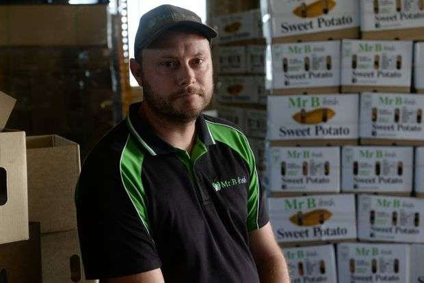 BACKPACKER TAX: Farmer Ben Pritchard is concerned about the increase to backpacker tax. Photo: Mike Knott / NewsMail