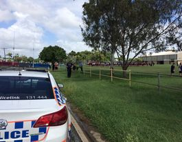VIDEO: Mackay school evacuated after threat received