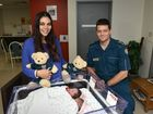 Kymberly Kay gave birth to twins Imarie and Mikkarra with assistance over the phone from ambulance and with critical care paramedic Anthony Crompton who arrived on the scene. The first baby arrived one minute after the phone call was answered.