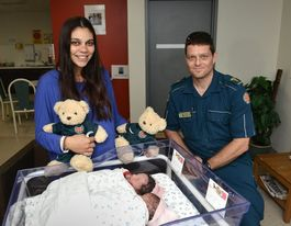 Oh baby! Twins surprise birth at at Nambour home